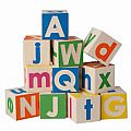 Uncle Goose Upper and Lower Case ABC Blocks