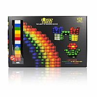 Light Stax Illuminated Blocks Mega Set, 102 Pieces