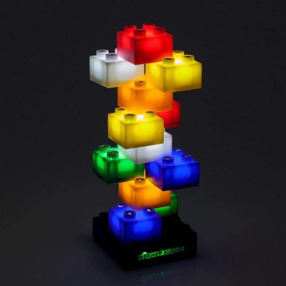Light Stax Illuminated Blocks Starter Set 12 Pieces