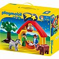 123 Playmobil Nativity Christmas Manger