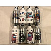Among Us Water Bottles