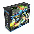 Twister Tracks Neon Glow in the Dark with Green Race Car