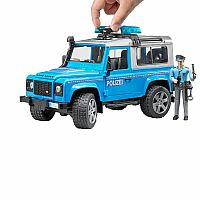 Police Land Rover Defender