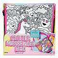 Glitter Messenger Bag