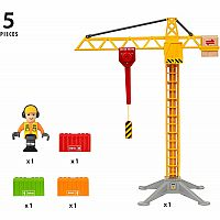 Brio Light Up Construction Crane