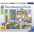 Cat Nap Puzzle 500pcs Large Format