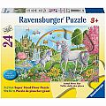 Prancing Unicorn 24pc Floor Puzzle