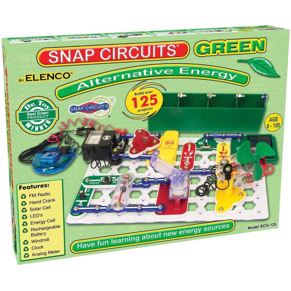 Snap Circuits Green Building Blocks