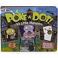 Poke-A-Dot Book: 10 Little Monsters