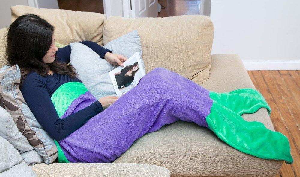 Blankie Tails Mermaid Tail Blanket Building Blocks