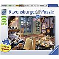 Cozy Retreat Puzzle 500pcs Large Format