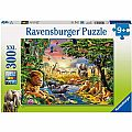 Evening at the Waterhole Puzzle 300 pcs