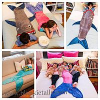 Blankie Tails Mermaid Tail Blanket