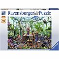 Greenhouse Mornings Puzzle 500pcs