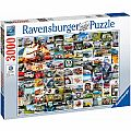 99 VW Campervan Moment Puzzle 3000 pcs