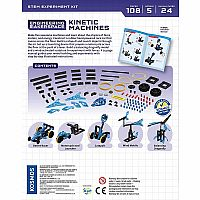 Engineering Makerspace Kinetic Machines Science Experiment Kit