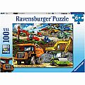Construction Vehicles 100pc Puzzle