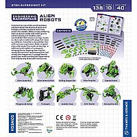 Engineering Makerspace Alien Robots Science Experiment Kit
