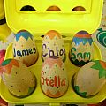 Wooden Personalized Eggs