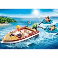 Playmobil Bundle: Summer Camper & Water Sports