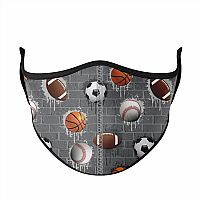 Sports City Face Mask Ages 3-7