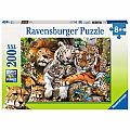 Big Cat Nap 200pc Puzzle