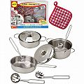 Alex Super Cooking Stainless Steel Play Set