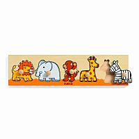 Djeco Wooden Puzzle Sava'n'co