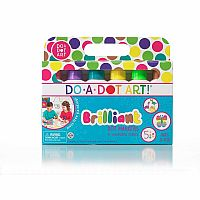 Do a Dot Brilliant Markers 6-pk [Washable]