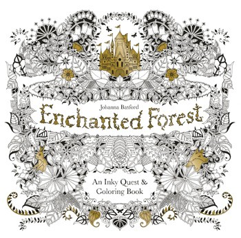 Enchanted Forest An Inky Quest Coloring Book Building Blocks