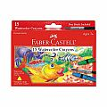 Faber Castell 15ct Watercolor Crayons