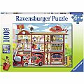 Firehouse Frenzy 100pc Puzzle