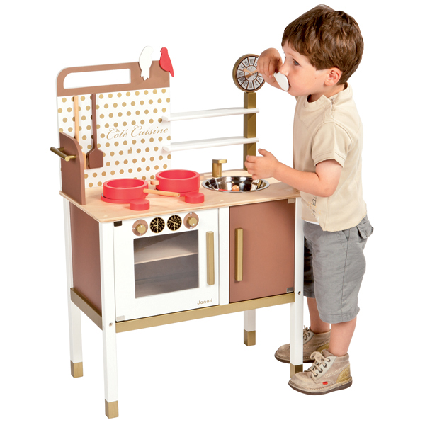 janod maxi cuisine chic play kitchen building blocks