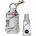 Marble Clip-on Sanitizer Carrier