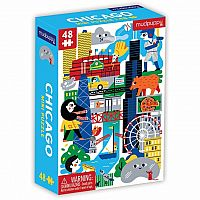 Mini Chicago 48 pc Puzzle