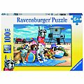 No Dogs at the Beach 100 pcs Puzzle