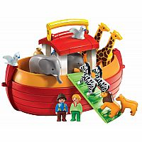Playmobil 1.2.3 My Take Along Noah's Ark