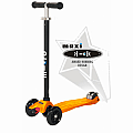 Maxi Kick T-Bar Scooter Black
