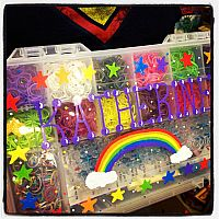 """Over The Rainbow"" Deluxe Rainbow Loom Kit"