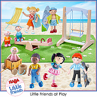 LITTLE FRIENDS AT PLAY (ages 3+)