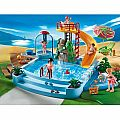 4858 Pool With Water Slide