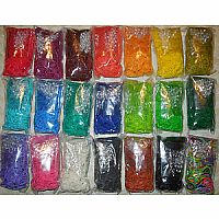 5 Assorted Packs of Rainbow Loom bands
