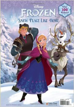 snow place like home giant coloring book - Giant Coloring Book