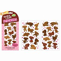 Scratch & Sniff Stickers- Assortment of 5