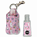 Unicorn Ice Cream Clip-on Hand Sanitizer Carrier