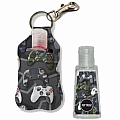 Video Game Clip-on Hand Sanitizer Carrier