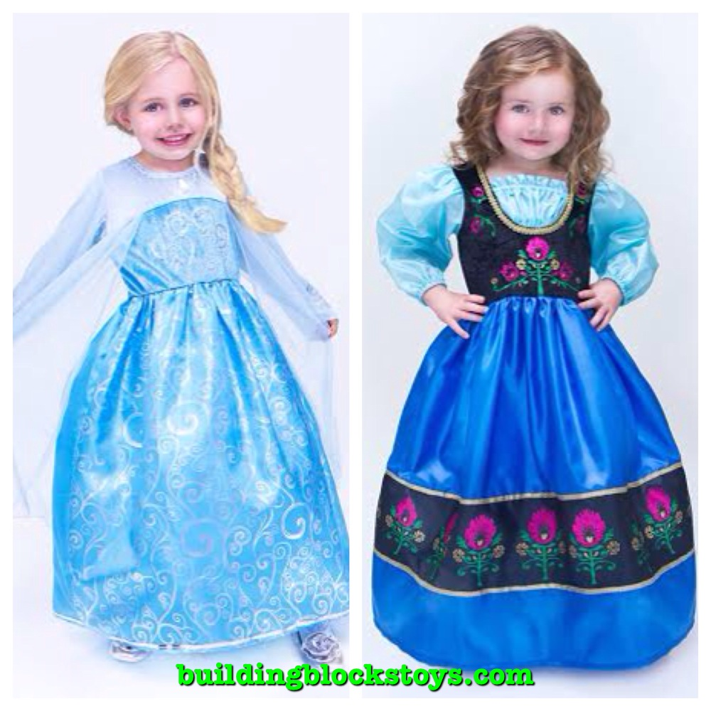 Frozen Dress Up Building Blocks
